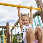 Aire de jeux pour enfant camping Lez-Eaux Normandie