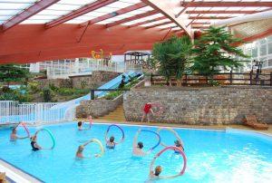 Parc aquatique couvert et chauffé en Normandie dans la Baie du Mont Saint Michel