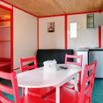 chalet Jersey 2 chambres camping 5 étoiles