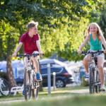 fietsverhuur op camping Lez eaux In normandië
