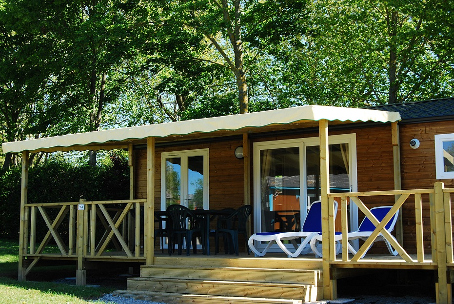 Mobile-home Premium tout confort en Normandie