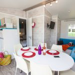 Mobile home 3 chambres Premium camping castels normandie