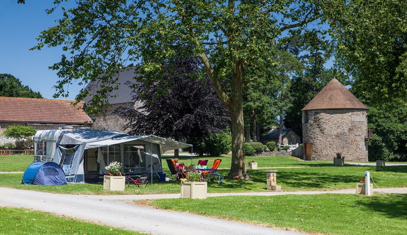 Emplacement luxe camping 5 étoiles