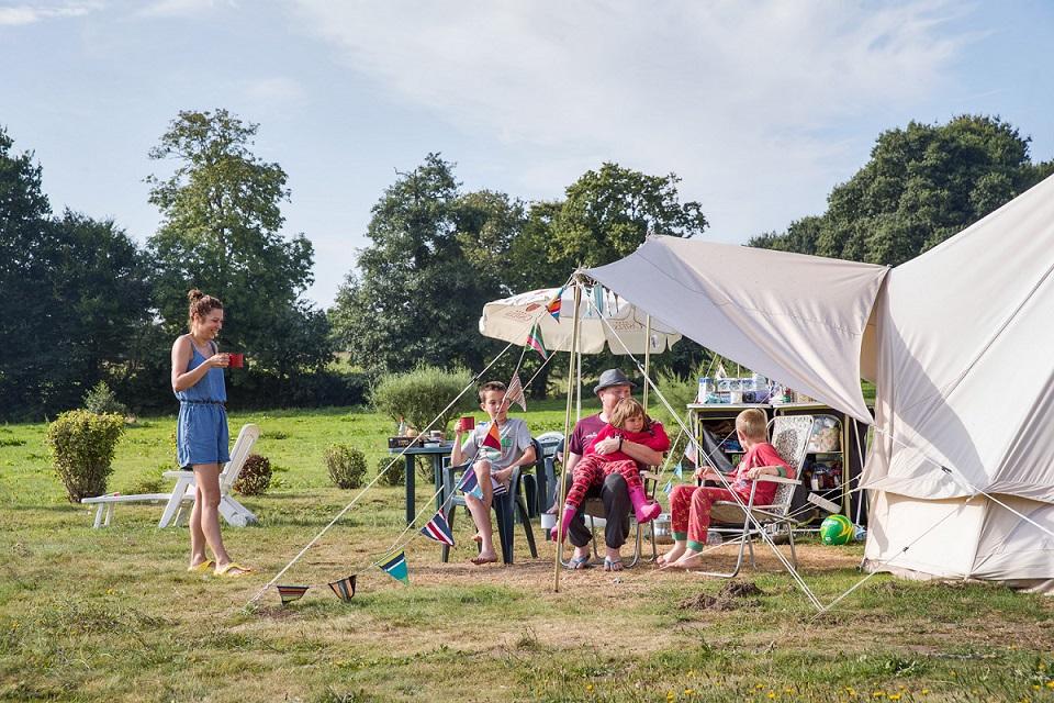 Camping emplacement tente - caravane - camping car Normandie