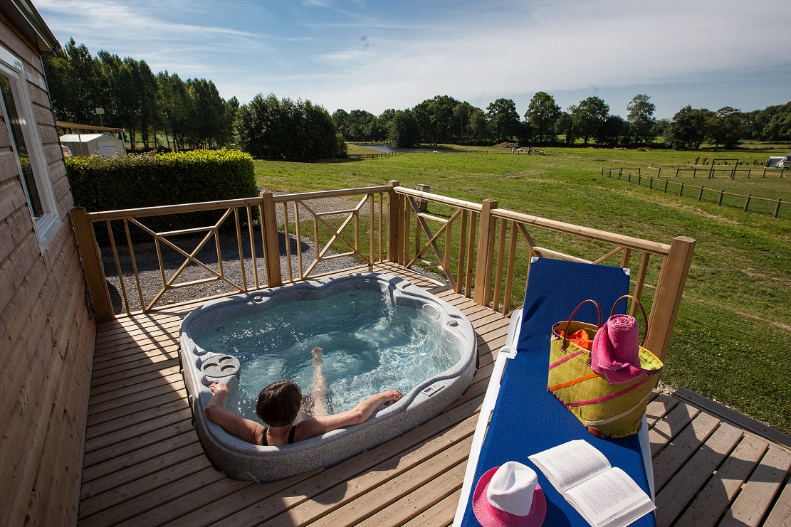 Location en Normandie avec Jacuzzi Privatif