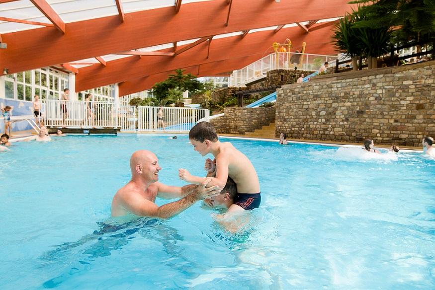 Camping en baie du Mont Saint Michel avec piscine couverte